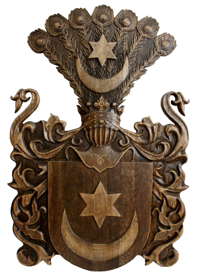 Coat of arms of Tishkevich family